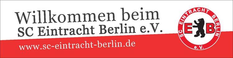 vereinsbanner ausleihen sportclub eintracht berlin e v. Black Bedroom Furniture Sets. Home Design Ideas