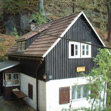 Hütte beim Wandern