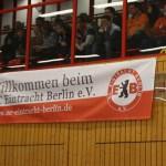 SCE-Banner im Einsatz in der Halle