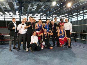 Die Berliner Meister im Boxen mit dem Kampfgericht 2017