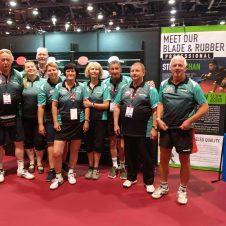 Team SC Eintracht Berlin bei der WM in Las Vegas