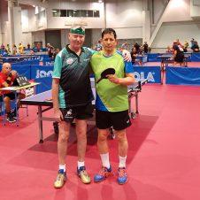 SC Eintracht Berlin bei der Tischtennis-WM der Senioren 2018 in Las Vegas
