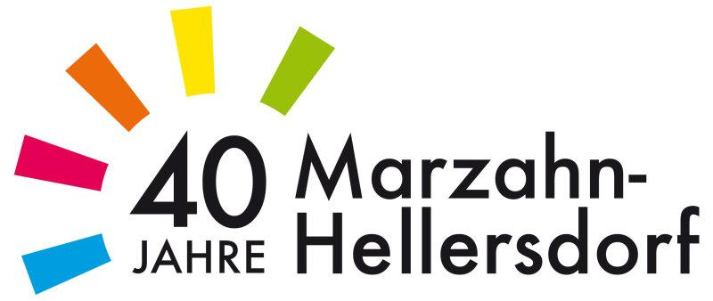 Marzahn-Hellersdorf 40 Jahre Logo