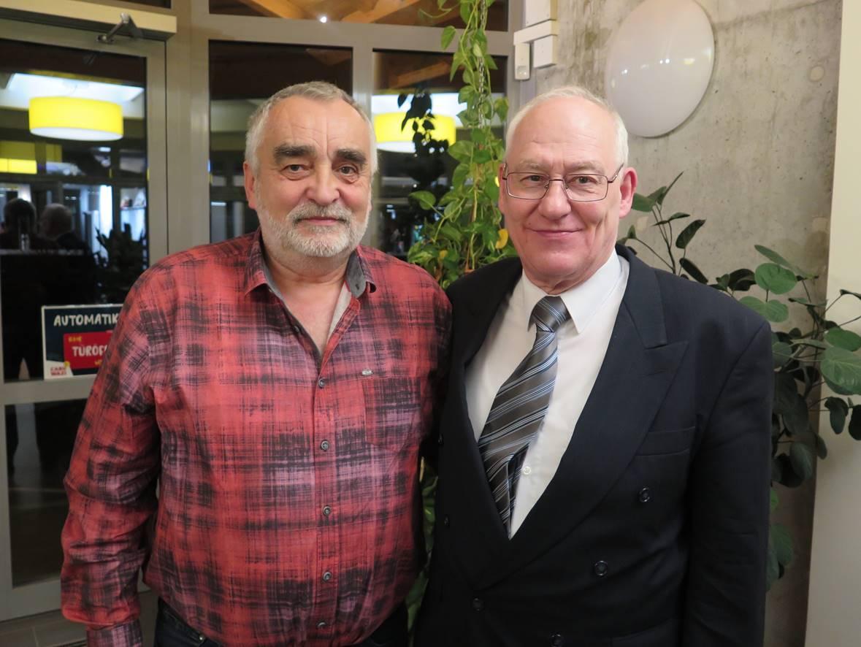 Klaus Vendt und Hans-Dieter Ostwald